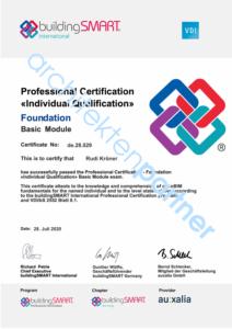 VDI-buildingSMART Certification